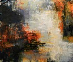 "Saatchi Art Artist Pat Zalisko; Painting, ""Reflections from Sugarloaf"" #art"