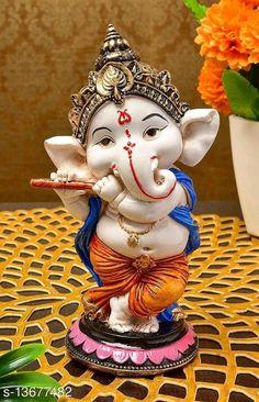Ganesh Chaturthi Decoration, Happy Ganesh Chaturthi Images, Shri Ganesh Images, Ganesha Pictures, Clay Ganesha, Ganesha Art, Ganpati Bappa Wallpapers, Ganesh Photo, Ganesh Lord