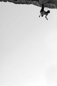 Bat hang on Pata Negra! #escalada