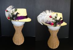 Kentucky Derby Hat by Sonya P. A.C. Moore Manahawkin, NJ #fashion #diy #kentuckyderby