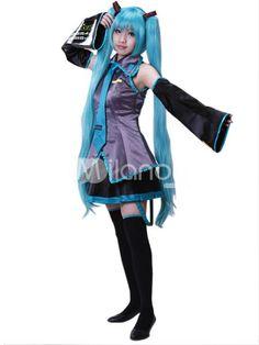 Vocaloid Cosplay Hatsune Miku Cosplay Costume Full Set outfits Anime Vocaloid Cosplay - Anime Vocaloid Hatsune Miku Costumes | Costumes u0026 Accessories ...  sc 1 st  Pinterest & Vocaloid Cosplay Hatsune Miku Cosplay Costume Full Set outfits Anime ...