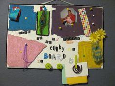 Fun cork board