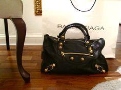 My Balenciaga Giant Work bag! <3