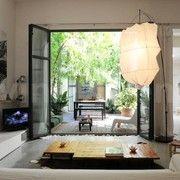 wonderful interior garden...