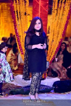 Black dress Pakistani Formal Dresses, Pakistani Wedding Outfits, Indian Dresses, Indian Suits, Nice Dresses, Casual Dresses, Fashion Dresses, Awesome Dresses, Stylish Dresses