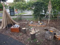 This photo of an amazing outdoor play-space was taken in August 2013 during a study tour to Melbourne ≈≈ For more inspiring pins: http://www.pinterest.com/kinderooacademy/preschool-outdoor-play-environments/