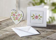 Folk It! Vintage Roses Learn Folk Art Painting Kit