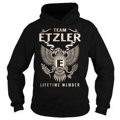 I Love Team ETZLER Lifetime Member - Last Name, Surname T-Shirt T-Shirts