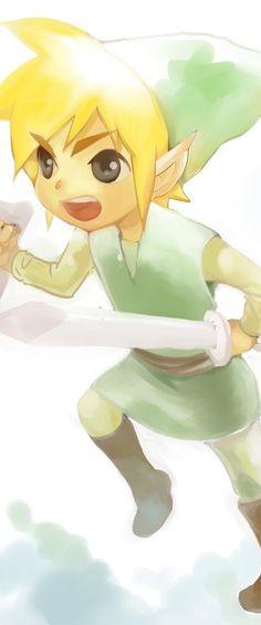 「途中りんくちゃん」/「かけ」のイラスト [pixiv] | The Legend of Zelda, Toon Link