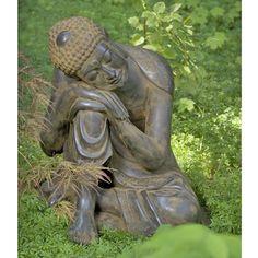 Resting Garden Buddha Statue:DharmaCrafts meditation supplies