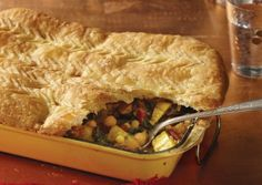Winter Squash Pot Pie with Swiss Chard and Chickpeas | Vegetarian Times