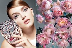 All Things Extraordinary photographed by Nick Knight. / #flowers #Swarovski