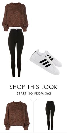 """""""casual"""" by ikatsamaki on Polyvore featuring Isabel Marant, Topshop and adidas"""