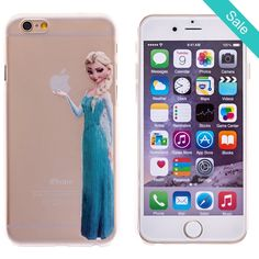 Elsa Transparent Back Cover Case for iPhone 6 - On Sale for $9.99 (was $22.50)