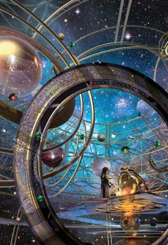 Stephan Martinière - Cover for Fire Dance by Ilana C. Myer, 2018 This print is available in five different formats. Please select print size and paper stock in the dropdown field below. Fantasy City, Fantasy Places, Fantasy World, Fantasy Concept Art, Fantasy Artwork, Stars Night, Arte Steampunk, Image Fairy Tail, Fantasy Art Landscapes