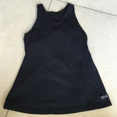Vintage Lululemon Black Halter Top Size 4 Preowned and in good condition Vintage Lululemon Black Halter Top Size 4. Built in bra. No pads. No size tag, it was bought as a 4 by previous owner. Please look at pictures for better reference and read description so you know what you are purchasing lululemon athletica Tops Tank Tops