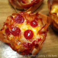 What's cooking in the burbs: Pepperoni Pizza Lasagna Cups