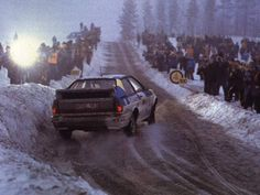 A new driver was brought into the Audi team for the Swedish Rally, Stig Blomqvist comfortably taking the win.