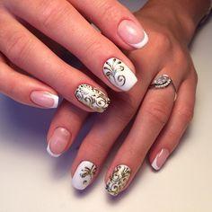 для Настюши моей любименькой #маникюруфа #ногтиуфа #гельлакуфа #кодиуфа #литьеуфа #френчуфа #биогельуфа #красотауфа #уфа # by irinaaaa_nail