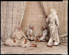 Lalla Essaydi (Moroccan, b. 1956), Les femmes du Maroc #1, 2006. Chromogenic print (c-print); 28.1 x 35.2 in. Edition 1/15