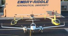 Embry-Riddle UAS Program Leads Nation as One of First to Begin Flight Operations
