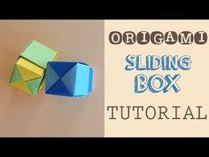 Origami Sliding Box Tutorial - YouTube