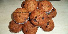 Σταφιδοκεκάκια νηστίσιμα απο τη Σοφη Τσιώπου Breakfast Recipes, Dessert Recipes, Cupcake Cakes, Cupcakes, Greek Desserts, Brownie Recipes, Food Photo, Vegetarian Recipes, Muffins