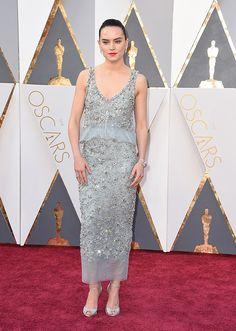 Quais foram os melhores looks do Oscar 2016? - Oscar's dresses - Oscars - Oscar 2016 - red carpet - party dress - Daisy Ridley