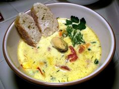 French mussel bisque, via Barefoot Contessa