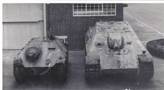 Panzerjäger Hetzer & Jagdpanther