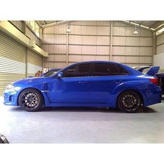 Our customer subaru wrx sti spec C with ZE40 new color! #elikaautomotiveperformance #volkrays ...