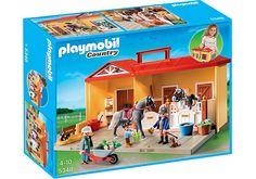 Playmobil Playmobil Nowa Przenośna Stadnina Koni 5348
