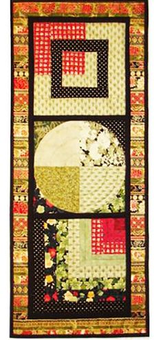 Quilt Pattern & Table Runner - Far East Holiday More