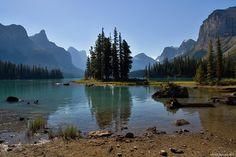 Maligne Lake a Medicine Lake (Jasper National Park) - IMG 1235 - Západní Kanada 2013
