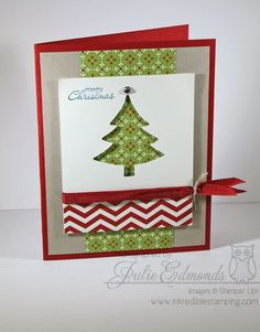 SU! Holiday Collection Framelits and Festival of Prints Designer Series Paper Stack - Julie Edmonds