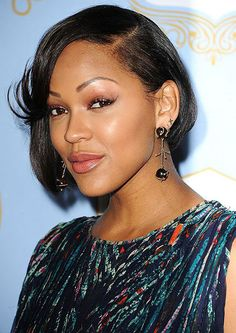 Browse our collection about Meagan Good asymmetric short hairstyles provided by Cool Short Hairstyles - Cool & Trendy Short Hairstyles 2017 Blonde Bob Hairstyles, New Short Hairstyles, Asymmetrical Hairstyles, Sleek Hairstyles, Undercut Hairstyles, Short Haircuts, Hairstyles 2018, Sassy Haircuts, Trendy Haircuts