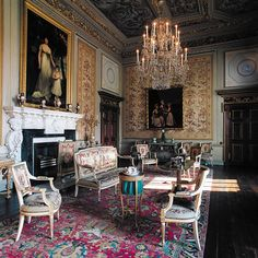 Houghton Hall, The White Drawing room