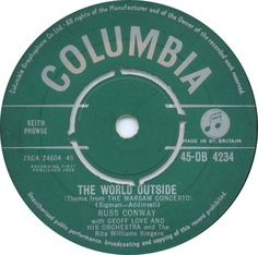 Russ Conway - The World Outside (Theme From The Warsaw Concerto) (Columbia) No.24 (Jan '59) > https://www.youtube.com/watch?v=4BBRIYW8JWg