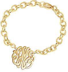 Designer Monogram Bracelet Order Any Initials by KetiSorelyDesigns, $69.00