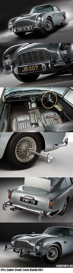 1964 James Bond Aston Martin DB5  #RePin by AT Social Media Marketing - Pinterest Marketing Specialists ATSocialMedia.co.uk