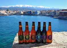 Chania | Solo your cretan craft beer standard range #solobeer #beer #crete #cretan #crafbeer #beerphotos #craft #IPA #Saison #Paleale #Porter #Imperialstout #IIPA Beer Photos, Beer Brands, Crete, Ipa, Craft Beer, Brewery, Beer Bottle, Range, Island