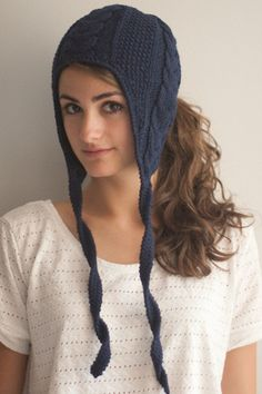 ponytail hand knit winter hat $ 35 more fall style ponytail hand knit ...