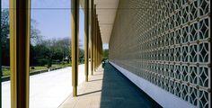 The American Embassy chancery in New Delhi, Source: Discover Diplomacy New Delhi, Delhi India, Archipelago, Mid-century Modern, Architecture Design, Sidewalk, Mid Century, Stairs, Stone