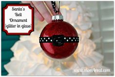 DIY::Santa Belt Ornament