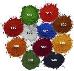 Testproben 100 g für Beton Gips Putz Harz, Eisenoxid Farbpigmente Betonfarben in Garten & Terrasse, Dekoration, Sonstige | eBay
