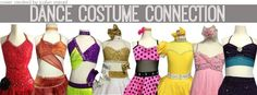 Your connection to the best custom made costumes for re sale! Check it out on www.facebook.com/DanceCostumeConnection #dancecostumeconnection