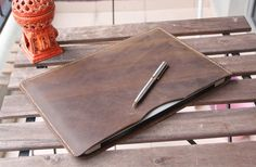 """PERSONALIZED Macbook Case made of Genuine leather,Air 11"""" 12"""" 13"""", Pro 13"""" Retina, Pro 13"""", Pro 15"""", iPad Pro, Surface,Laptop Sleeves"""