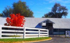 Real Estate Pics   Barn at Keeneland Lexington,KY  mykyhomeinfo.com