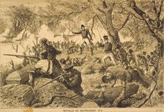 The Battle of Chateauguay (on October 26, 1813, the Canadian troops under the command of Charles-Michel de Salaberry won an important victory over the invading American forces).