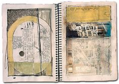 Italian sketch book 4 by John Lovett | Sketches and notes on Venice - ink, pencil, paper and watercolour